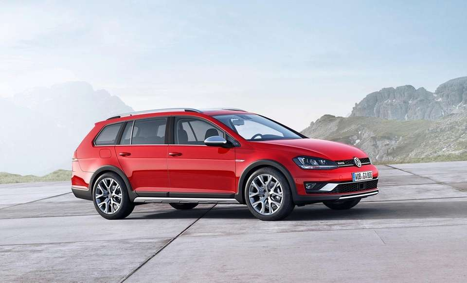 2017 Volkswagen Golf Alltrack / Four wheel drive
