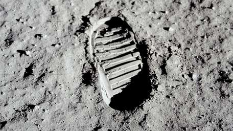 This 1969 photo released by NASA shows a