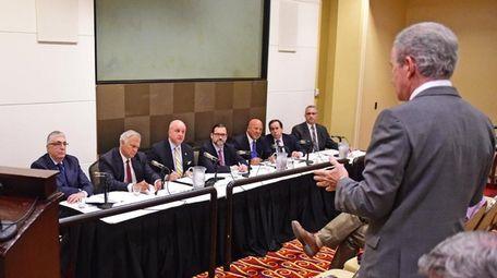 NIFA board members at a 2017 meeting.