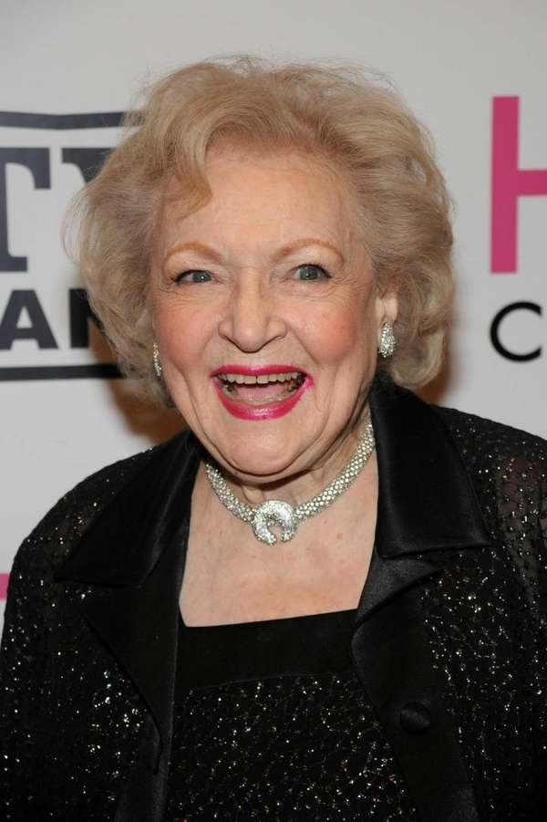 "Actress Betty White attends the ""Hot in Cleveland"""