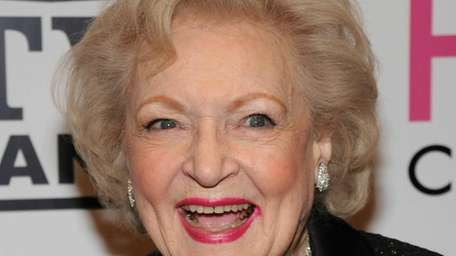 Actress Betty White attends the