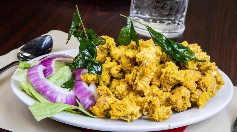 Crunchy golden cashew-paneer pakoras could qualify as the