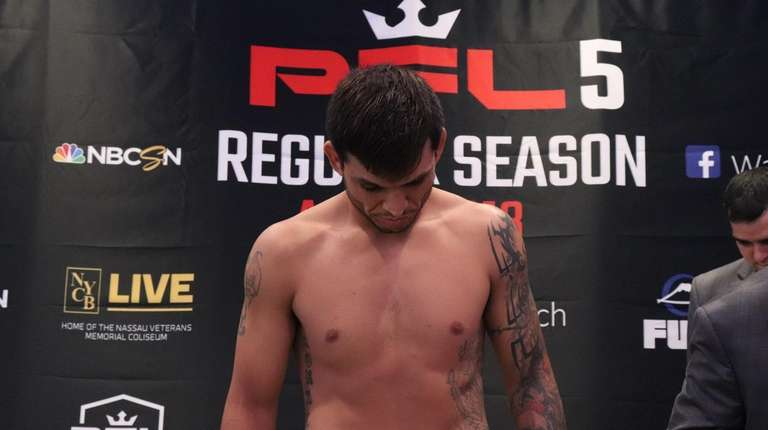 PFL lightweight Efrain Escudero fails to make weight