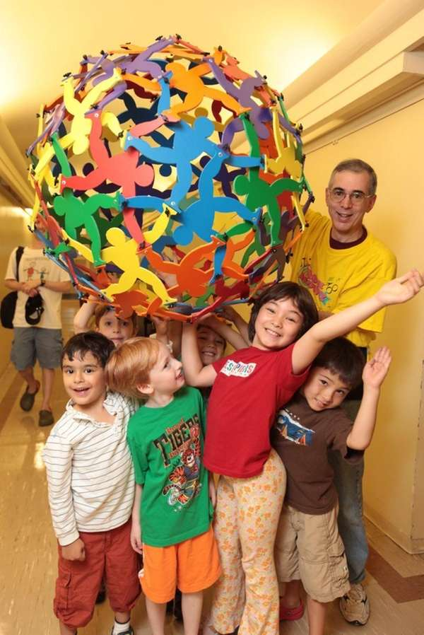 Learn about math with hands-on, carnival-type exhibits at