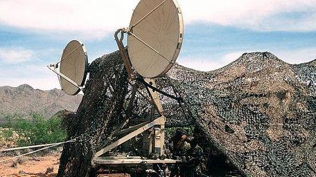 troposcatter technology in the field