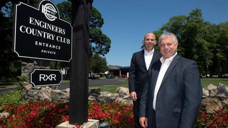RXR chairman and CEO Scott Rechler, left, and
