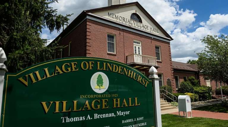 Lindenhurst Village Hall seen on July 11, 2016.