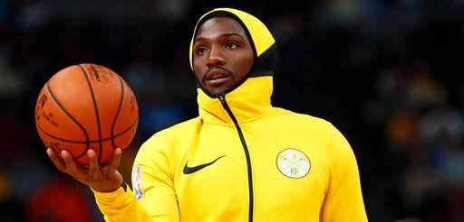 Forward Kenneth Faried on March 15, 2018, with