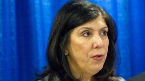 Nassau County District Attorney Madeline Singas on April