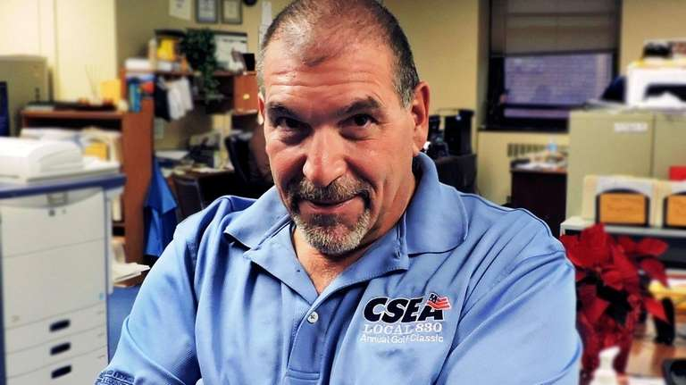 Gary Volpe, a Nassau Police civilian employee and