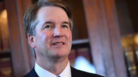 Supreme Court associate justice nominee Brett Kavanaugh attends