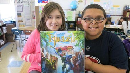 Kidsday reporters Savannah Maresca and Tyler Consalvo with