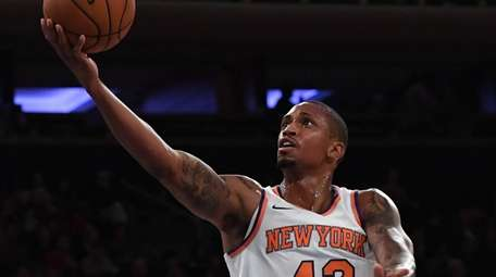 Knicks forward Lance Thomas, shown here against the