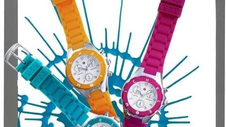 Michele watches with interchangeable straps trunk show, 10