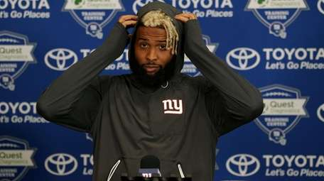 New York Giants wide receiver Odell Beckham Jr.