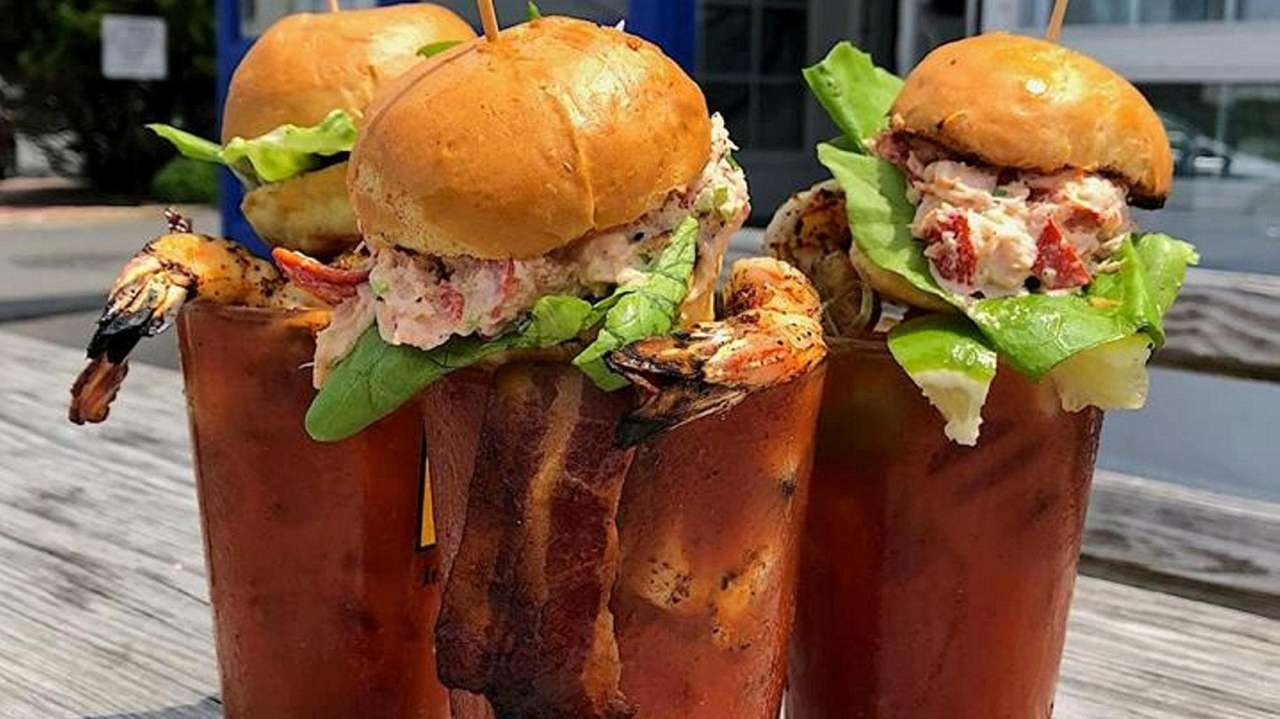 Long Island restaurants serving crazy Bloody Marys | Newsday