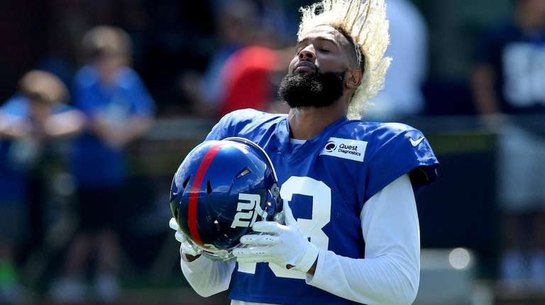 new style 2c28f d953c Playing Odell Beckham Jr. in preseason games could be risky ...