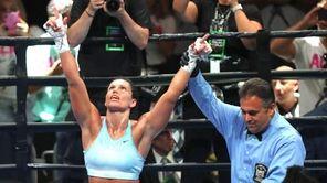 Alicia Napoleon, of Lindenhurst, scored a unanimous 10-round