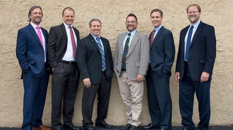 BBS' new partners, from left: Joseph B. Rettig,