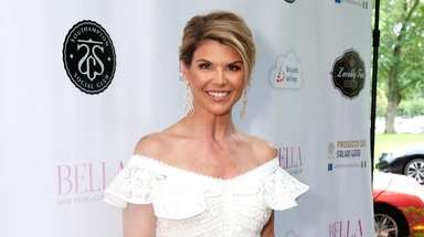 Hauppauge-raised Lori Loughlin hosts the Bella magazine white