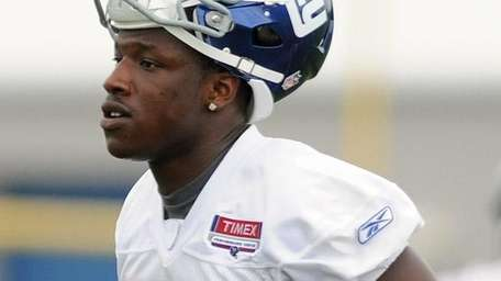 Giants running back Andre Brown tore his Achilles