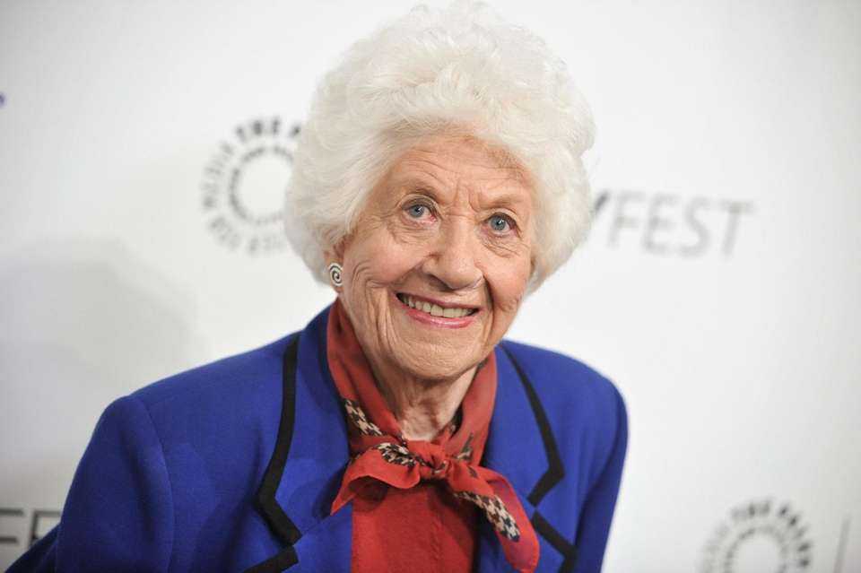 Charlotte Rae arrives at the 2014 Paleyfest fall