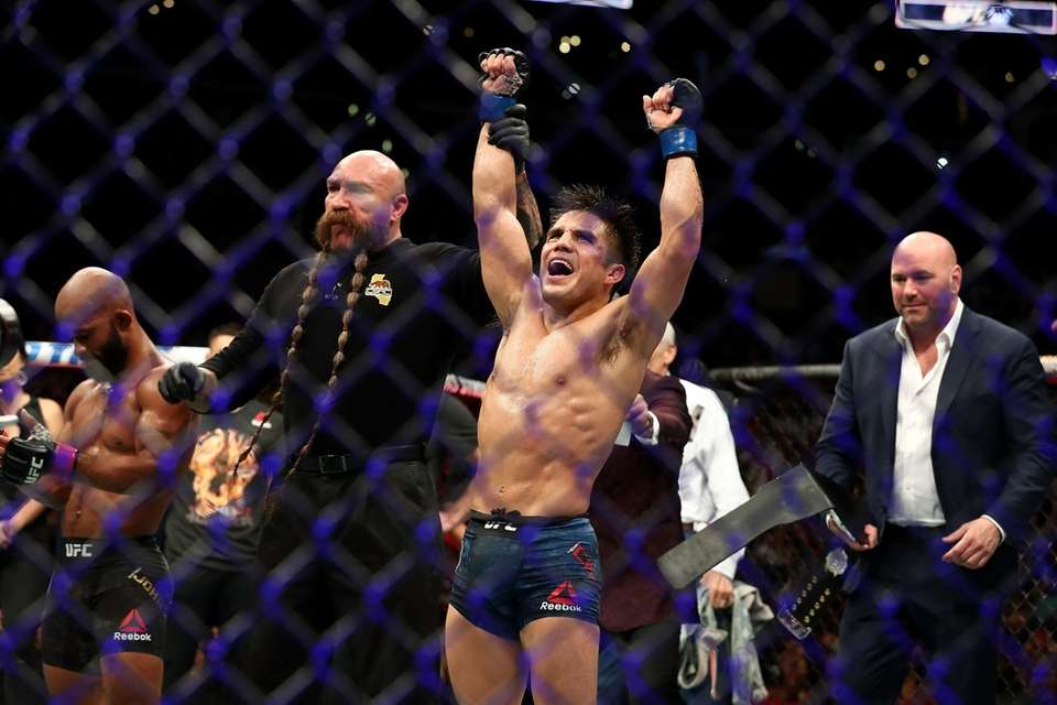 Henry Cejudo,an Olympic gold medalist in wrestling in