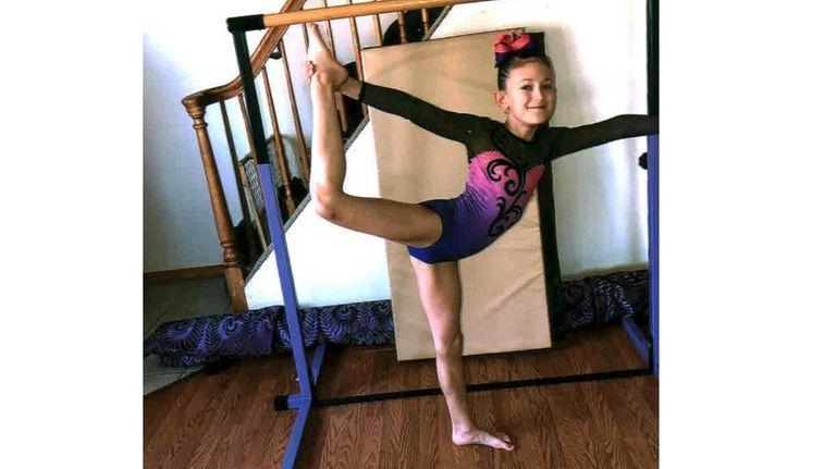 Kidsday reporter Katelyn Perillo is an enthusiastic gymnast.