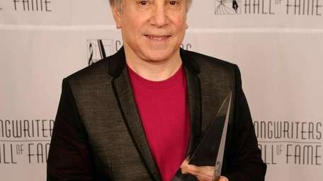 Honoree Paul Simon attends the 41st Annual Songwriters