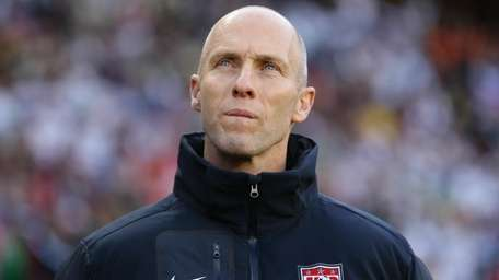 Bob Bradley, head coach of the U.S. team,