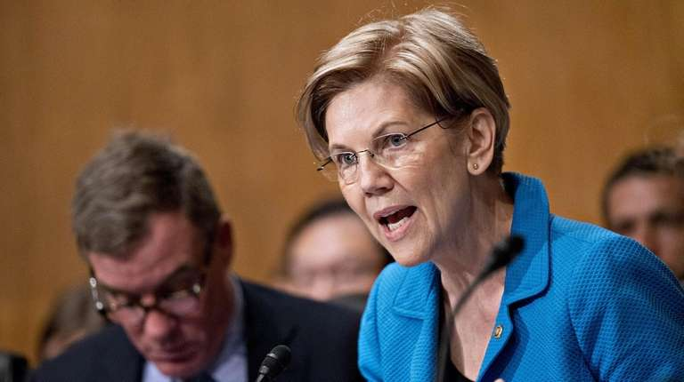 Sen. Elizabeth Warren, seen here on July 19,