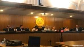 The Hempstead Town Board voted 5-2 Tuesday to
