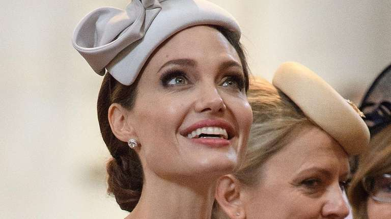 Actress and director Angelina Jolie attends an event