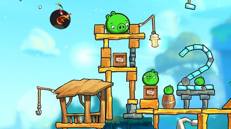 Angry Birds 2 offers graphics even better than