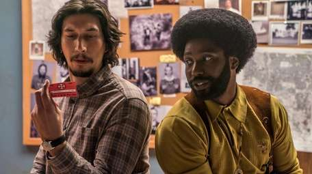 Adam Driver and John David Washington star in
