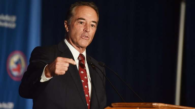 Rep. Christopher Collins of Buffalo, seen on July