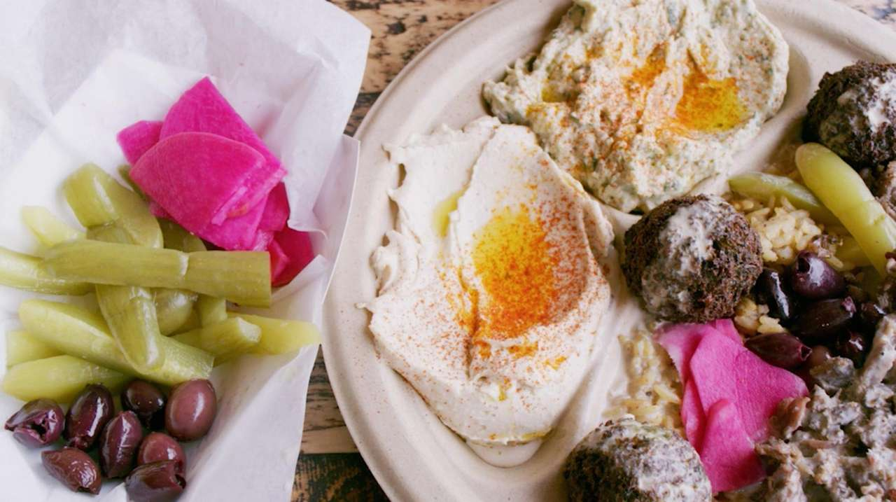 Since 1971, Mamoun's Falafel has been a landmark