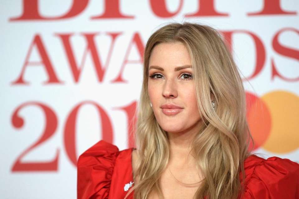 British singer Ellie Goulding announced her engagement to
