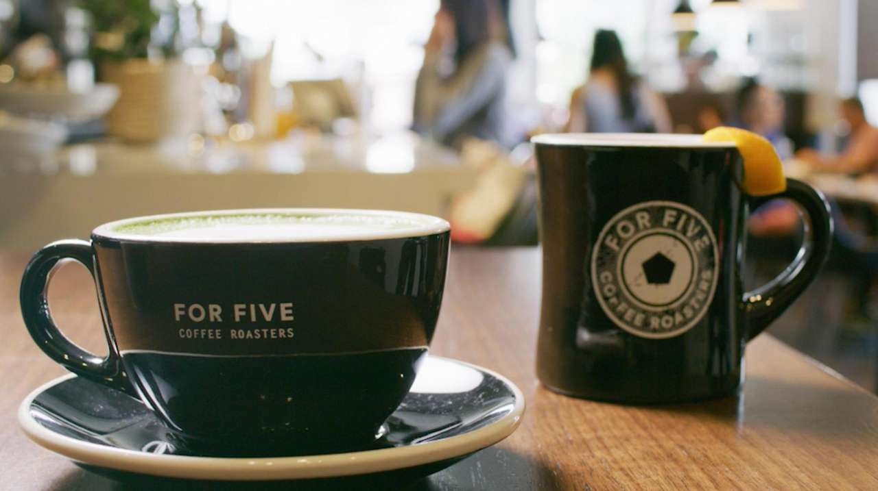 Five Coffee Roasters opened their first Long Island