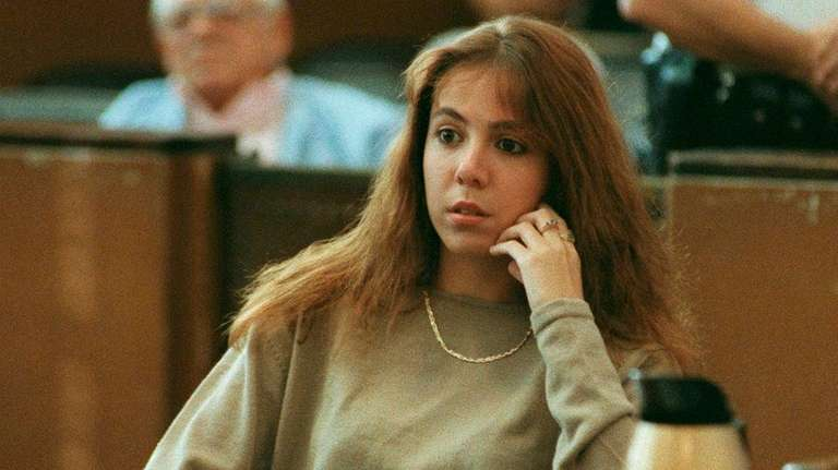 Amy Fisher at Nassau County Court in 1992.