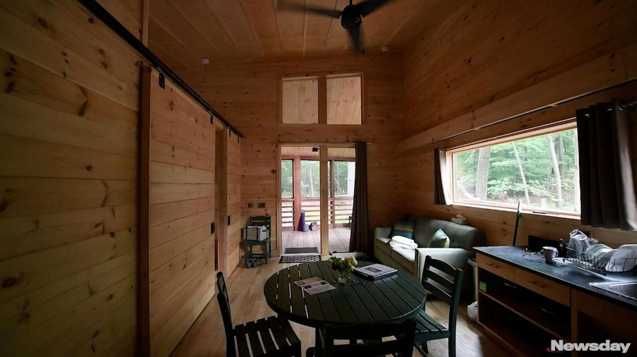 """Glamping,"" or glamorous camping, is a new trend"