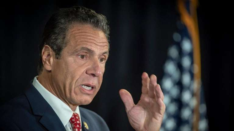New York State Gov. Andrew M. Cuomo during