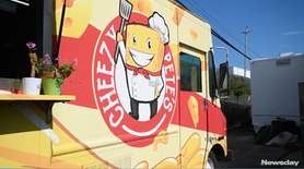 Peter Robideau, owner of Cheezy Pete's food truck,