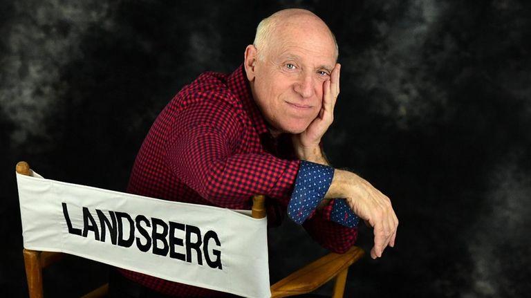 American actor, writer, and producer David Landsberg.