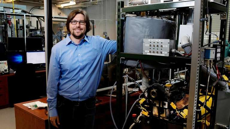 Ben Lawler, internal combustion engine researcher, at Stony