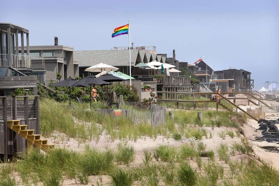 This LGBTQ-centric community is also the island's most