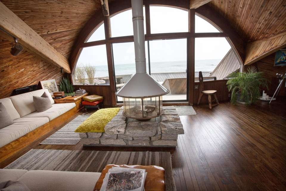 The Fire Island Pines is an architecturally distinguished
