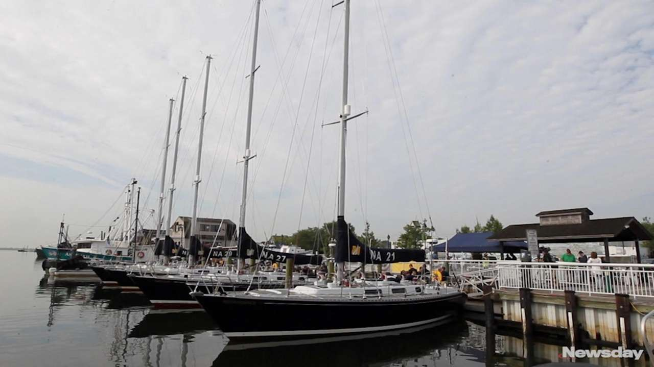 Freeport's Nautical Mile got some special visitors on