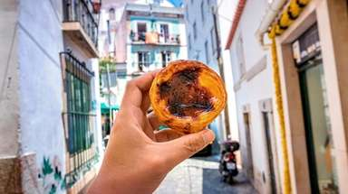 On a food tour in Lisbon you might