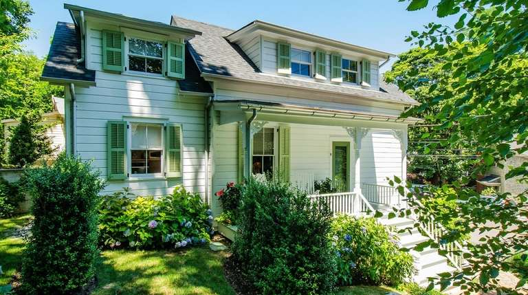 Renovations to the two-bedroom Roslyn home include a